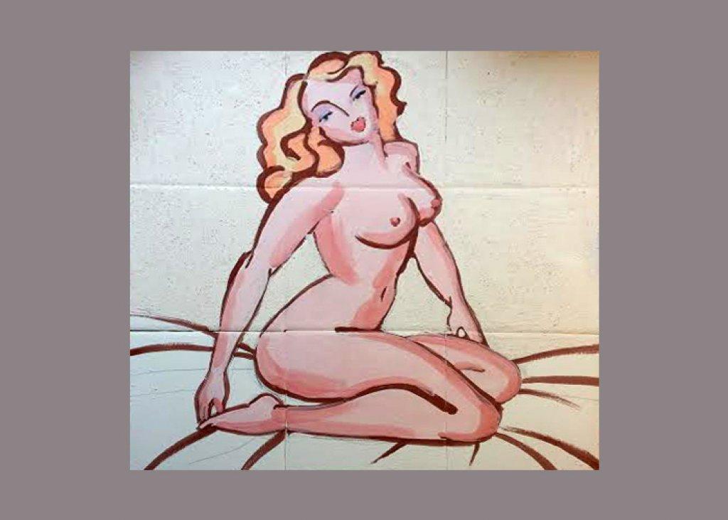 Nude Tile Mural