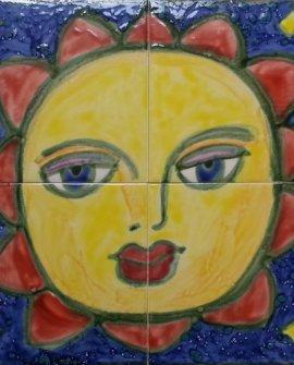 Sun Murals Tiles