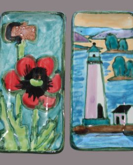 Poppies & Light House