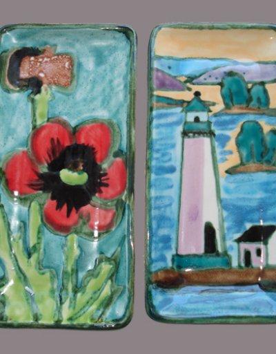 Poppies & Light House