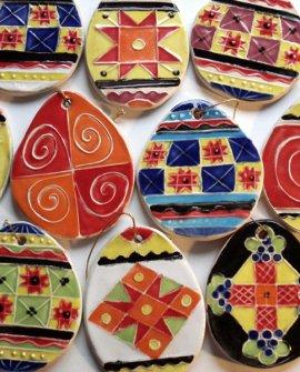 Easter Eggs Tiles