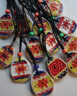 Easter Eggs Pendants
