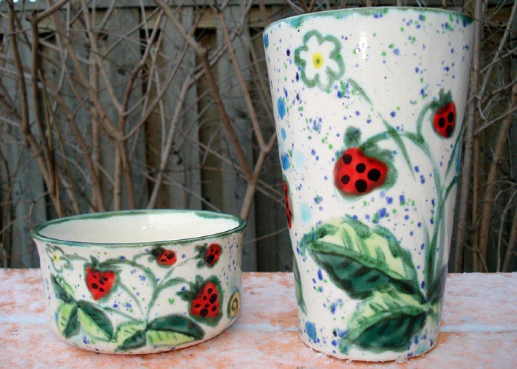 Vase Strawberry