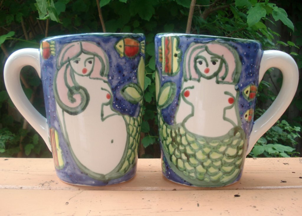 Milk Pitcher Mermaids