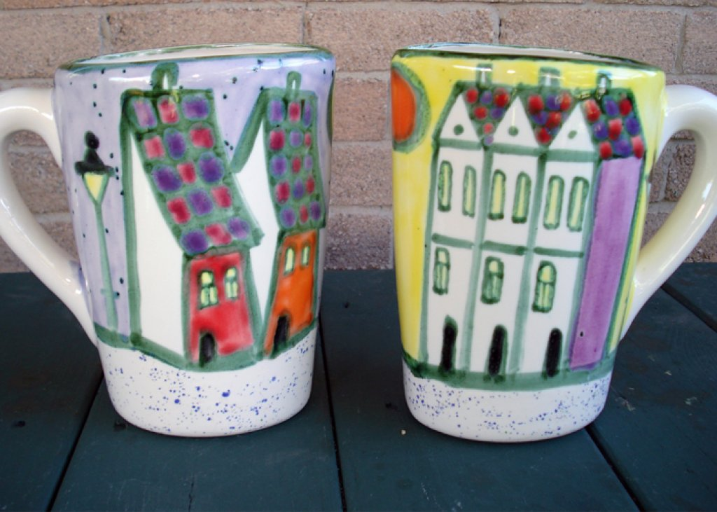 Milk Pitcher Houses
