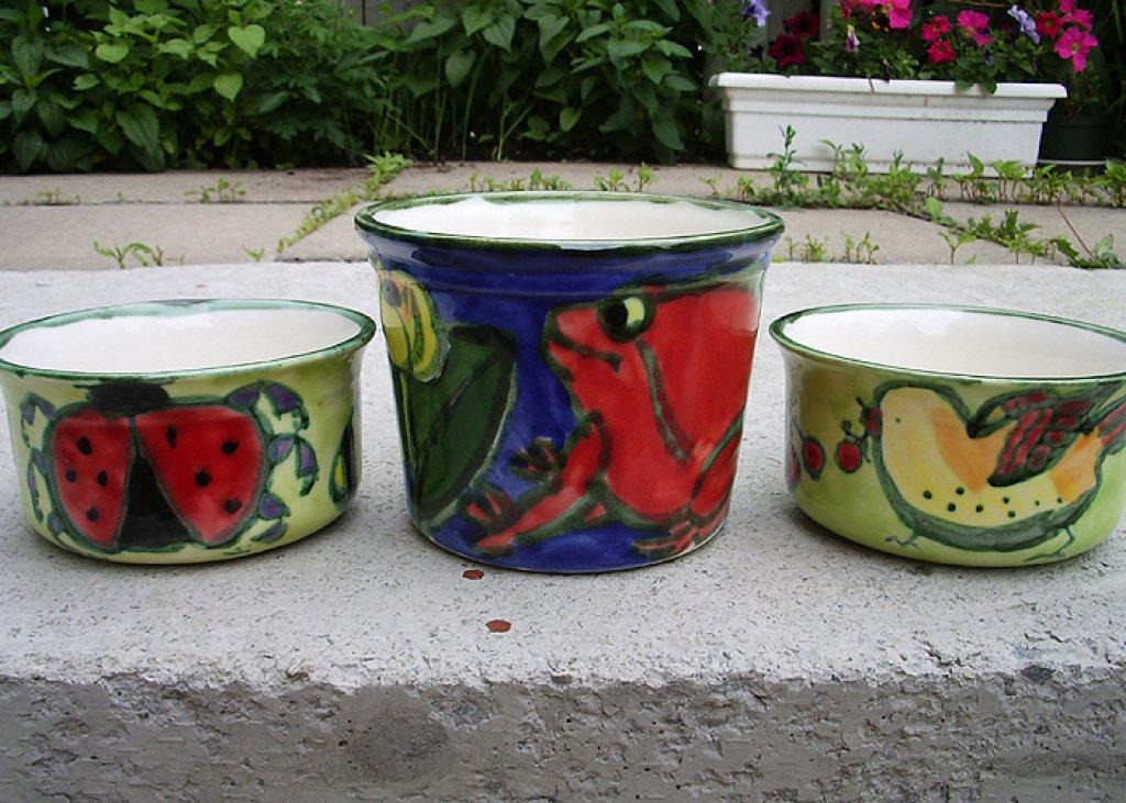 Flowerpots Soup Bowl
