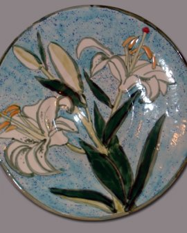 White Easter Lilies