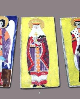 Saint Michael, Saint Volodymyr, & Saint Olga